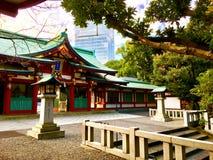 Ayoama budista do templo japonês imagem de stock