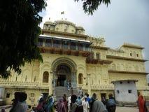 Ayodhya Kanak Bhavan tempel Royaltyfri Fotografi