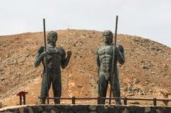 Ayos和Guize在费埃特文图拉岛,社论 免版税库存图片