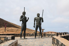Ayos和Guize在费埃特文图拉岛,社论 库存照片
