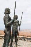 Ayos和Guize在费埃特文图拉岛,社论 库存图片