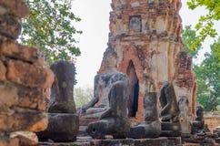 Ayotaya di Buddha Fotografia Stock