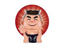 Ayothaya di sumo Fotografia Stock