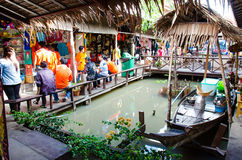 Ayothaya Floating Market Stock Photography
