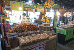 Ayothaya Floating Market Royalty Free Stock Images