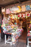 Ayothaya het Drijven Markt Stock Foto's