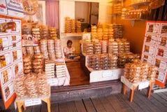 Ayothaya het Drijven Markt Stock Afbeelding