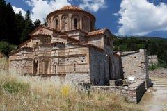 Ayoy Theodoroi byzantinische Kirche Mystras Stockbild
