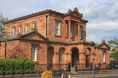Ayr architecture Royalty Free Stock Photo