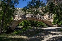 Ayres Natural Bridge Park Fotografie Stock Libere da Diritti