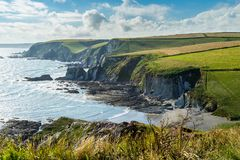 Ayrmer Cove Devon England UK royalty free stock images