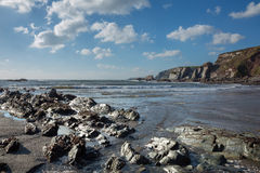 Ayrmer Cove. Stock Photo