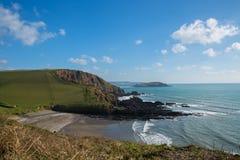 Ayrmer zatoczka Devon Fotografia Stock