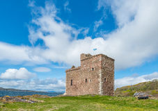 Ayrshire del nord di Seamill del castello di Portencross Immagini Stock