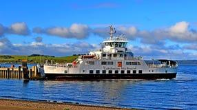Ayrshire Ecosse de largs de ferry d'imper de calorie de paysage photos stock