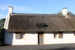 Ayrshire Scozia di Alloway del cottage delle ustioni. Immagini Stock Libere da Diritti