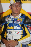 Ayrton Badovini BMW S1000 RR - BMW Motorsport Stock Photos