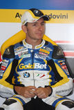 Ayrton Badovini BMW S1000 RR - BMW Motorsport Royalty Free Stock Photography