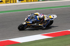Ayrton Badovini BMW S1000 RR - BMW Motorsport Royalty Free Stock Images