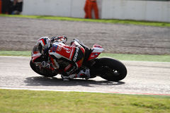 Ayrton Badovini #86 on Ducati 1199 Panigale R Team Ducati Alstare Superbike WSBK Royalty Free Stock Photo