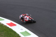 Ayrton Badovini #86 on Ducati 1199 Panigale R Team Ducati Alstare Superbike WSBK Stock Photography