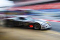 Ayrton Intermotor drużyna 24 godziny Barcelona Zdjęcia Stock