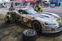 Ayrton Intermotor Team 24 heures de Barcelone Image stock