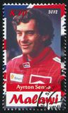 Ayrton Senna fotografia stock libera da diritti