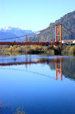 Aysen bridge Stock Photos