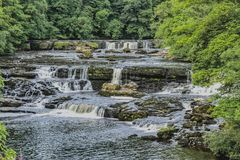 Aysgarth photo stock