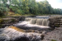 Aysgarth Falls - Waterfall Royalty Free Stock Photography