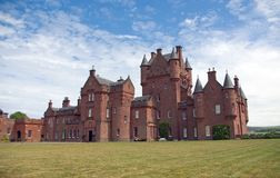 Ayton Castle Royalty Free Stock Photos