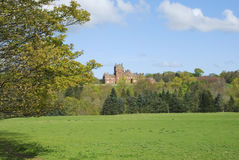 Ayton Castle from south, Berwickshire Royalty Free Stock Photos