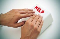 Ayuda Imagen de archivo