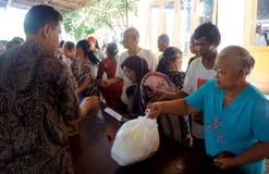 Ayuda alimentaria libre Fotografía de archivo libre de regalías