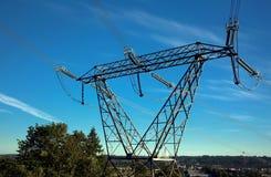 Ayuda de alto voltaje Imagen de archivo