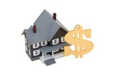Ayuda de la hipoteca Foto de archivo libre de regalías