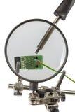 Ayuda de la ingeniería de precisión Fotografía de archivo libre de regalías