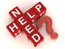 Ayuda de la necesidad Foto de archivo libre de regalías
