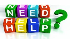 Ayuda de la necesidad Imagen de archivo