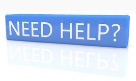 Ayuda de la necesidad Foto de archivo