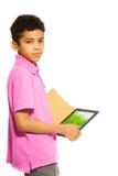 Ayuda de los ordenadores de la tableta con el aprendizaje Imagen de archivo libre de regalías