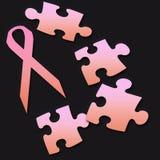 Ayuda del cáncer de pecho Imágenes de archivo libres de regalías