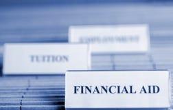 Ayuda financiera fotografía de archivo libre de regalías