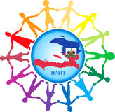 Ayuda Haití 2 Imágenes de archivo libres de regalías