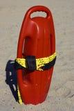 Ayuda plástica roja de la flotabilidad Foto de archivo