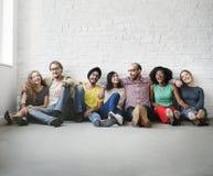 Ayuda Team Unity Friendship Concept de los amigos Imagenes de archivo