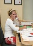 Ayudante de la oficina Imagen de archivo libre de regalías