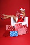 Ayudante de Santa foto de archivo libre de regalías
