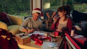 Ayudante del ` s de Papá Noel pequeño almacen de video